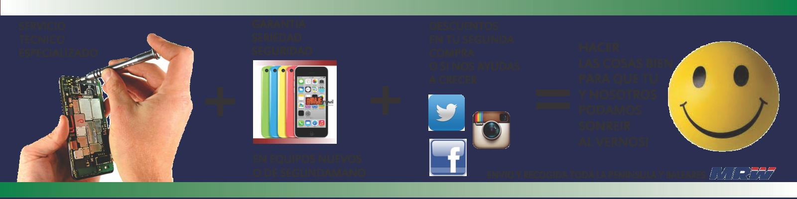 reparacion Apple o Android, los mas reparados Madrid y Peninsula