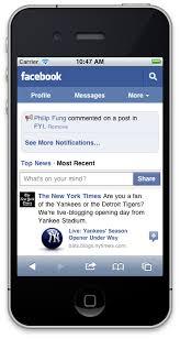 Para enviar mensajes por Facebook tendras que descargar Messenger