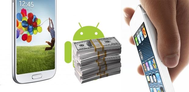 Porque Samsung y Apple se apoderan del mercado de los móviles?