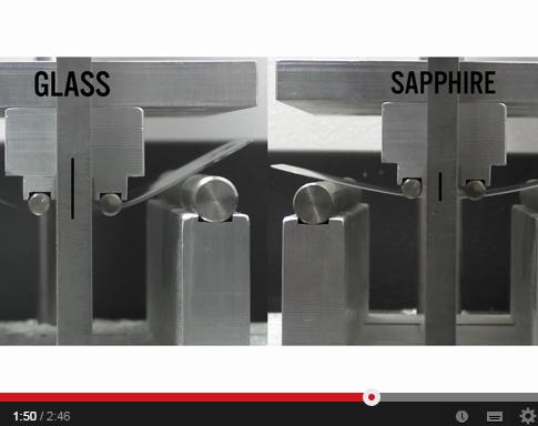 Zafiro vs Gorilla Glass, quien es mas resistente?