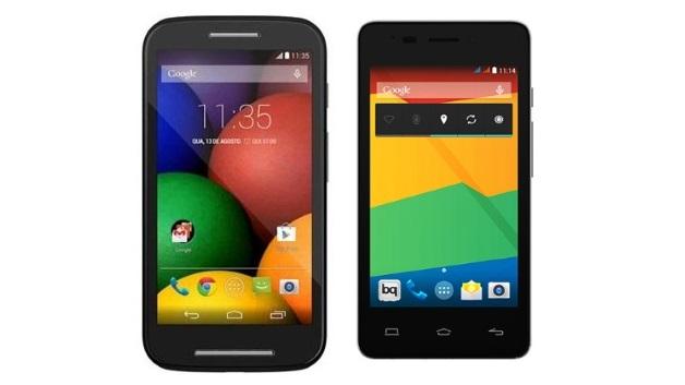 BQ E4 y Motorola E, ambos económicos pero muy rentables!