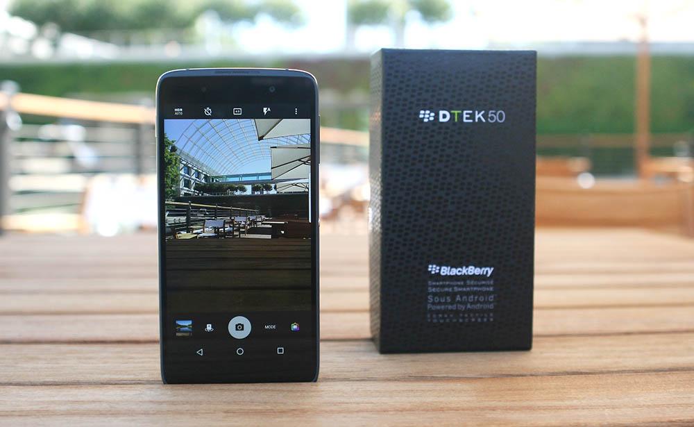 BlackBerry presenta su nuevo teléfono con Android, el DTEK50
