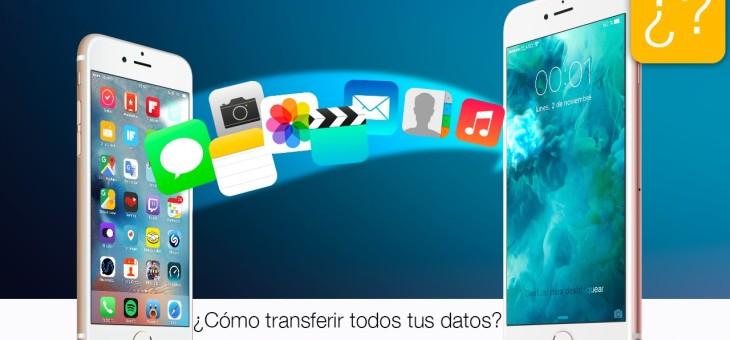 Iphone a Samsung o viceversa, traspasar mis datos