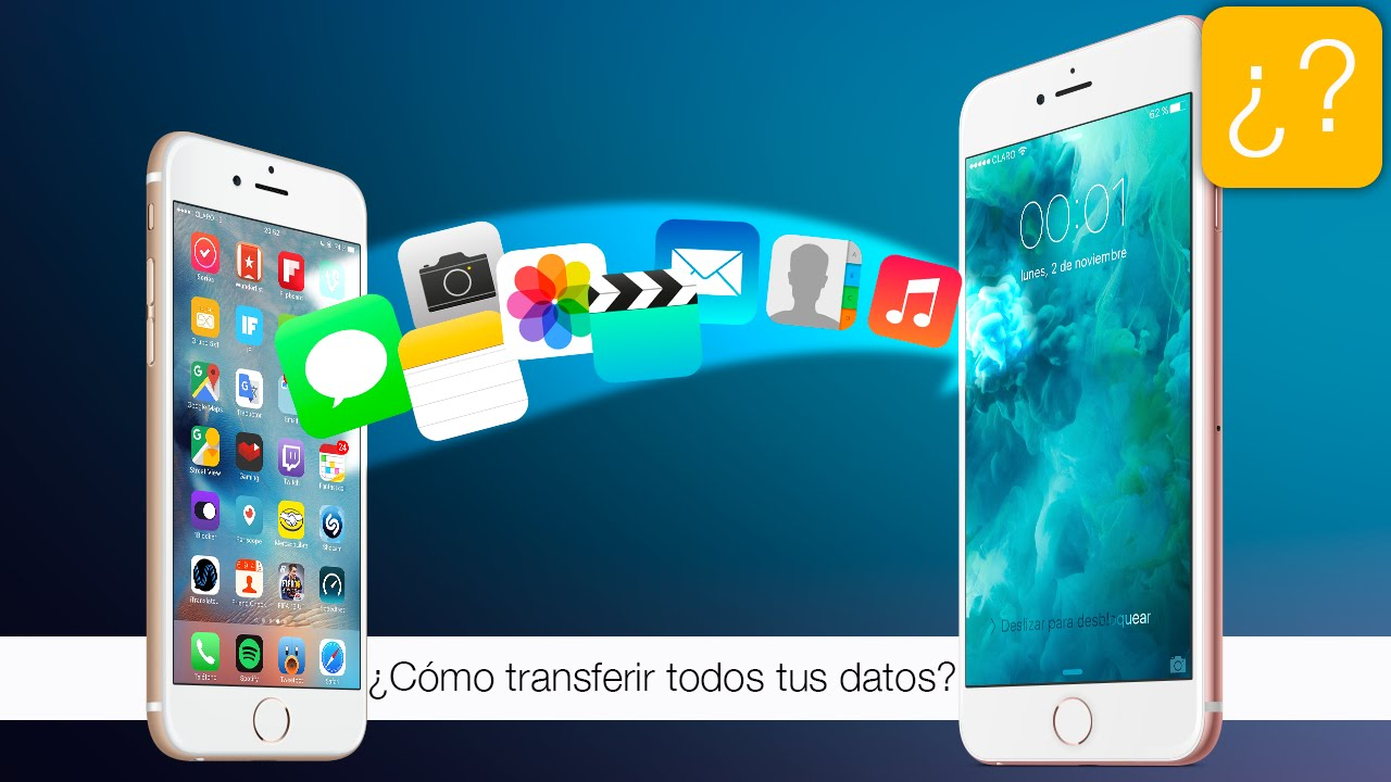 Iphone a Samsung o viceversa, traspasar mis datos